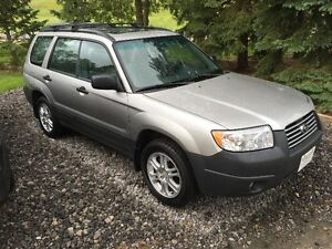 2007 Subaru Forester 2.5 i Columbia Edition 72000 KMs
