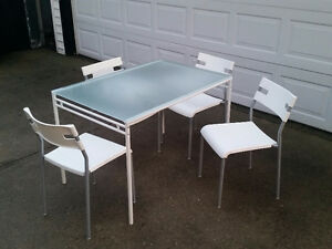 Ikea Laver Dining Table and Chairs