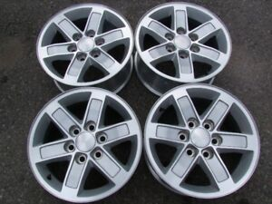"""4-17 INCH 6 BOLTx5.5""""(139.7MM) GM TRUCK ALLOY RIMS,CENTERS INCL."""
