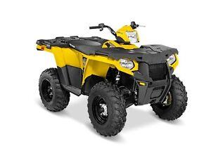 2016 Polaris Sportsman 570 Yellow