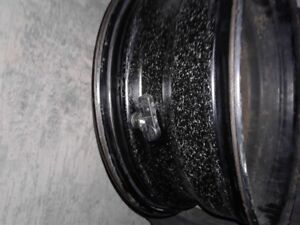 4 almost new 5 bolt rims with air sensors