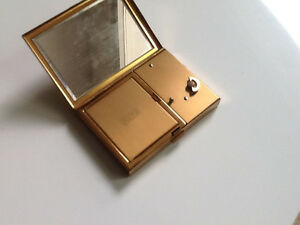 Vintage Swiss Music Box Compact