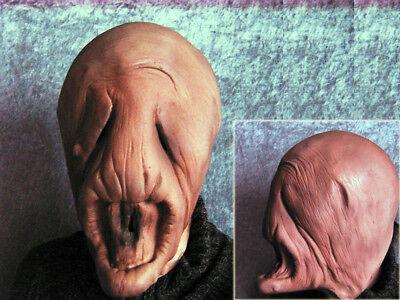 VE - Horror Effekt Gummi Zombie Latex Maske SciFi Halloween (Alien Maske)