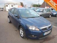 2009 Ford Focus Hatch 5Dr 1.6TDCi 110 DPF Zetec Diesel blue Manual