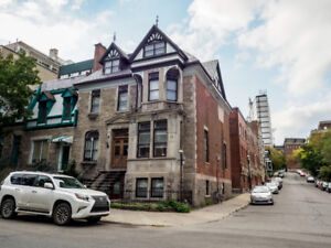 2 BEDROOM CONDO NEXT TO MCGILL UNIVERSITY FOR SALE AND RENT