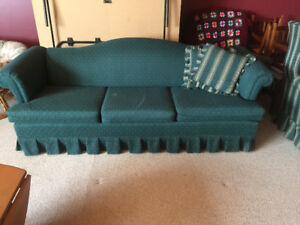 Couch and two chairs one is recliner