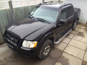 2005 ford explorer sport trac 4x4 with safety