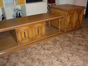 A DONNER table salon style colonial une grande et deux petites