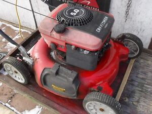 "20"" Craftsman lawnmower 5 hp. briggs"