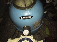 Lacron Side Mount Swimming Pool Filter