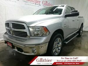 "2016 Ram 1500 Big Horn Quad 4x4 w/8.4"" Touchscreen  - Low Mileag"
