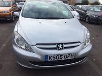 Peugeot 307 1.6 16v S 5dr 10 months MOT only £999