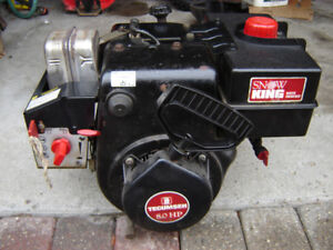 SnowBlower Engine 8-hp Tecumseh Dual-Shaft Very Rare, 100%