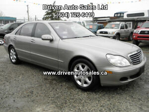 2006 Mercedes-Benz S-Class S430 4Matic AWD Navigation Bluetooth