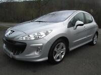09/09 PEUGEOT 308 1.6 HDI SE 5DR HATCH IN MET SILVER WITH ONLY 72,000 MILES