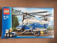 LEGO City 4439: Heavy Lift Helicopter 100% Complete