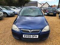 2005 Vauxhall Corsa 1.4i Design+ Long MOT 11-2018+10 Stamps