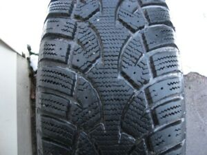 4-215/70/15 General altimax artic snow tires on rims.