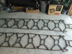 TRACTOR  TIRE  CHAINS