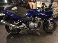 2001 suzuki bandit 600s y reg