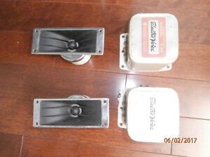 Electro Voice - 2 x T35 - 16 ohms + 2 X36