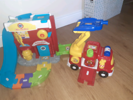 Vtech Fire Station and Fire Engine