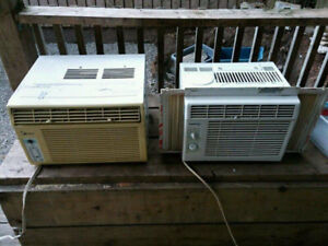 Window AC units air conditioning. Obo