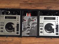 Gemini CD Decks & Mixer