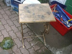 Sturdy Wrought Iron Table