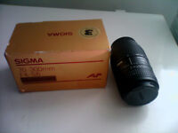 SIGMA CAMERA ZOOM LEN 70-300MM F4-5.6DL MACRO SUPPER (NEW)