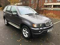 BMW X5 4.4i auto 2002MY . GENUINE LOW MILES! A STAGGERING 55 K. MOT, 11/2017.