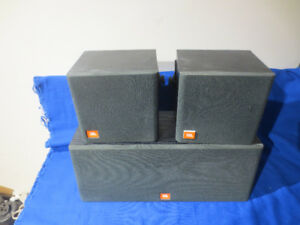 JBL Flix 1 Center Channel And Pair Surround Speakers