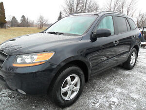2009 Hyundai Santa Fe, saftied and e-tested,only 156,000kms
