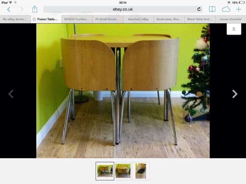 IKEA Fusion dining Table and chair set 16390 in East  : 86 from www.gumtree.com size 800 x 600 jpeg 48kB