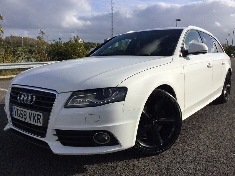 Audi A4 Avant 20 Tdi S Line Avant 143ps White 2009 In Cheetham