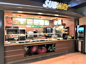 Franchise business-Subway for sale in Edmonton