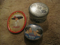 Assorted collectible tins $10 each or make an offer for all!  Ch