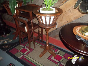 Vintage Fern Plant Stands (Two Available)