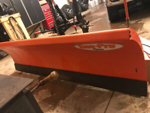 8 foot commercial Curtis Sno-pro 3000