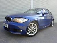 2008 58 BMW 1 SERIES 2.0 123D M SPORT 2D 202 BHP DIESEL