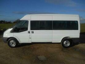 2010 FORD TRANSIT 100 T370 15 SEAT 5 DOOR 2400 CC DIESEL MANUAL MINIBUS