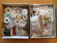 Jewelry findings, beading supplies