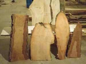 Rustic, decorative, creative live edge wood