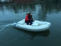 Avon sea jet 3.2m with trailer can deliver.