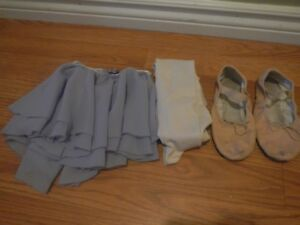 Dance shoes, tights and skirt (from Maritime Dance)