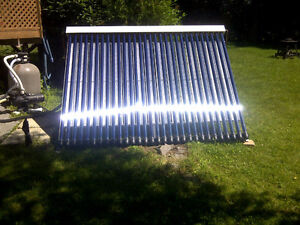 24 tube evacuated solar panel Brand New! Half Price! retails 2k West Island Greater Montréal image 3