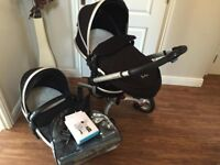 Silver cross surf travel system mint condition