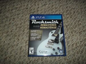 Rocksmith 2014 Remastered for ps4