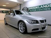 BMW 3 SERIES 330d M Sport Auto [3X SERVICES, LEATHER and HEATED SEATS]