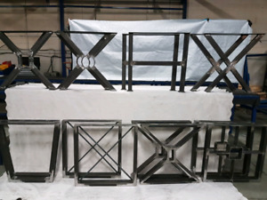 metal table legs for sale !!!!!!